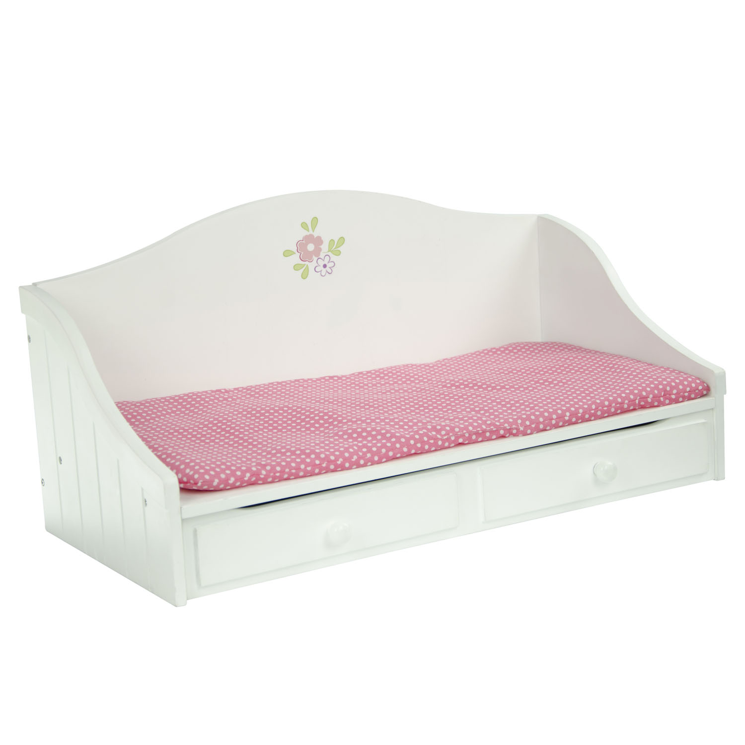 "Olivia's Little World Little Princess 18"" Doll Furniture - Trundle Bed"