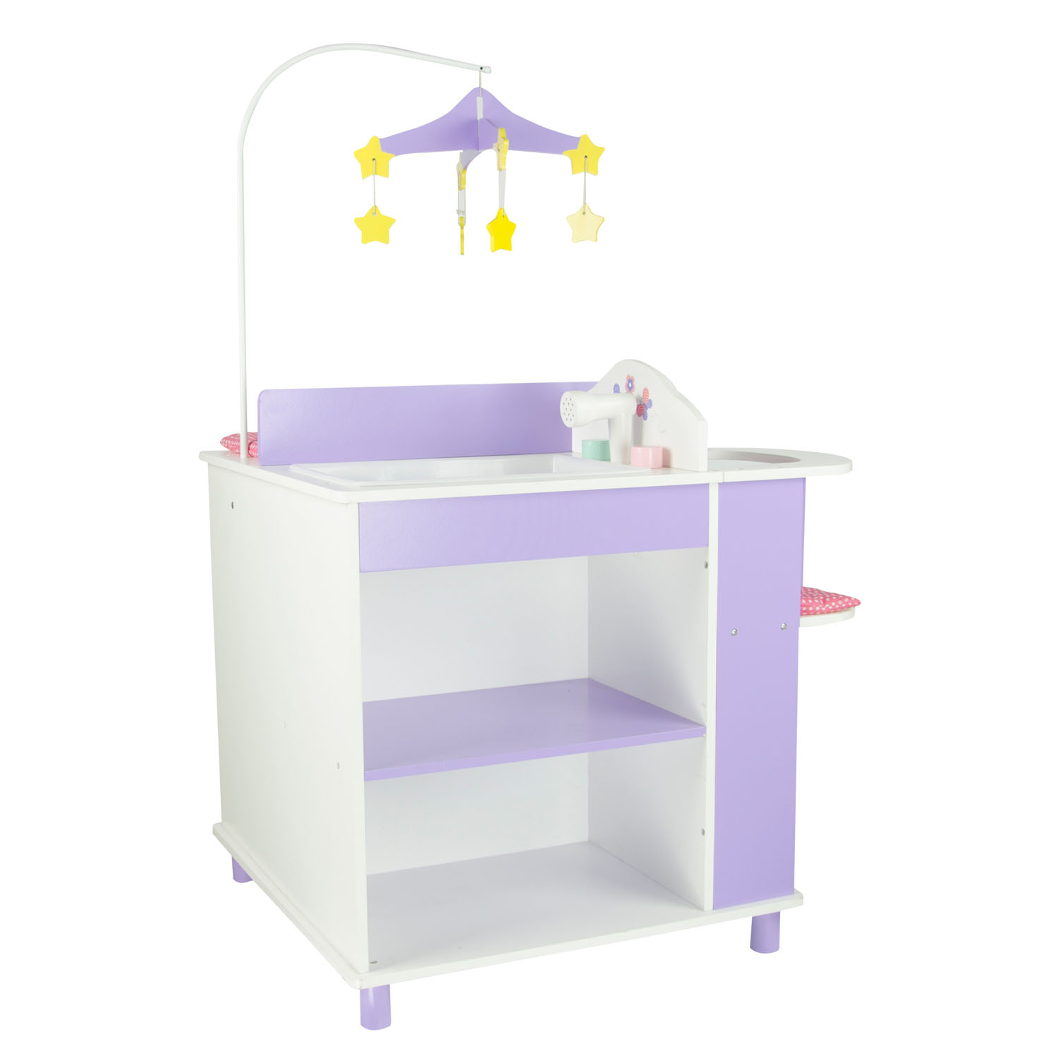 "Olivia's Little World Little Princess 18"" Doll Furniture - Baby Changing Station with Storage"
