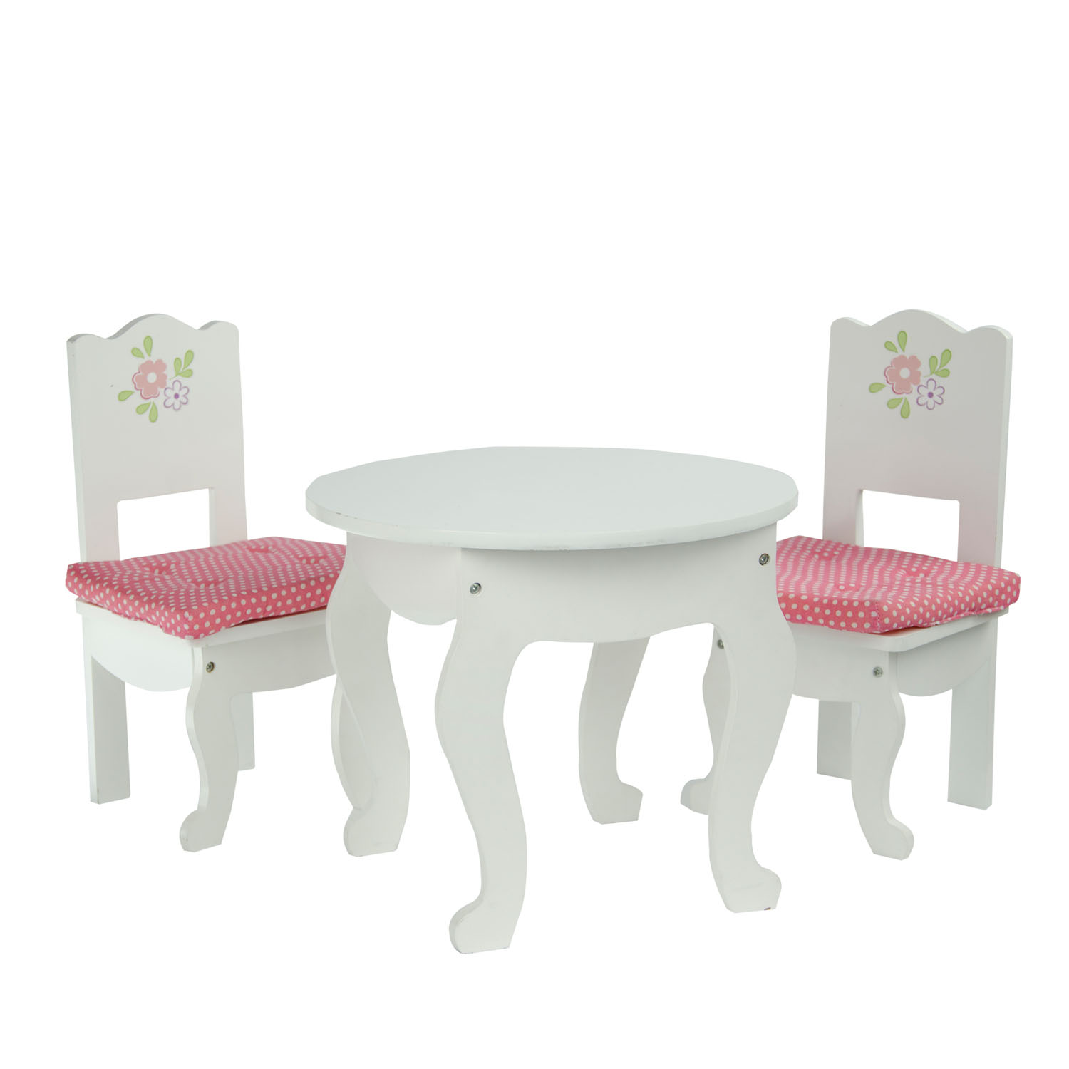 "Olivia's Little World Little Princess 18"" Doll Furniture - Table and 2 Chairs Set"