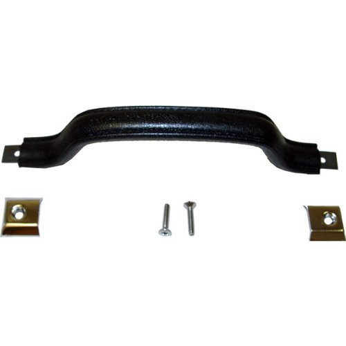 Interior Door Pull Kit, Black; 87-95 Jeep Wrangler YJ