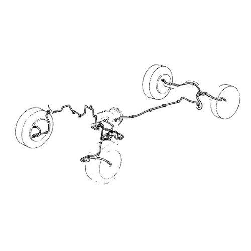 Steel Brake Line Kit