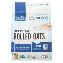 Organic Rolled Oats - Sprouted ( 4 - 24 OZ )