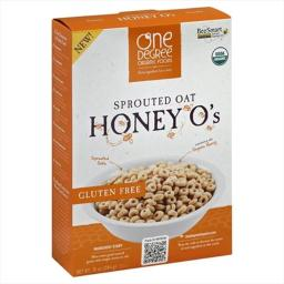 Cereal - Sprouted Oat Honey O'S ( 6 - 10 OZ )