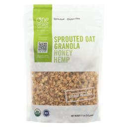 Sprouted Oat Hemp Granola - Honey ( 6 - 11 OZ )