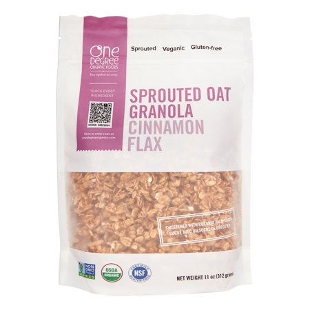 Cinnamon Flax Granola - Sprouted Oat ( 6 - 11 OZ )