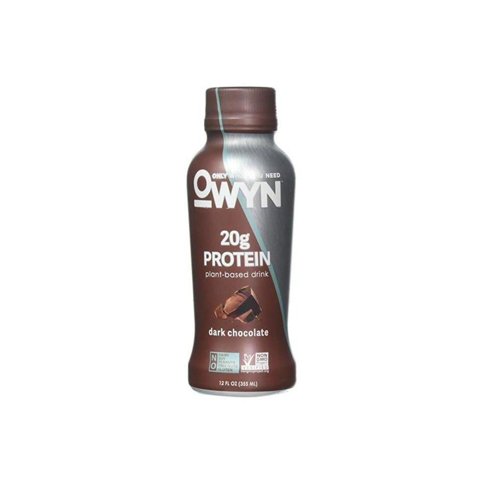 Plant Based - Dark Chocolate - Protein ( 12 - 12 FZ )