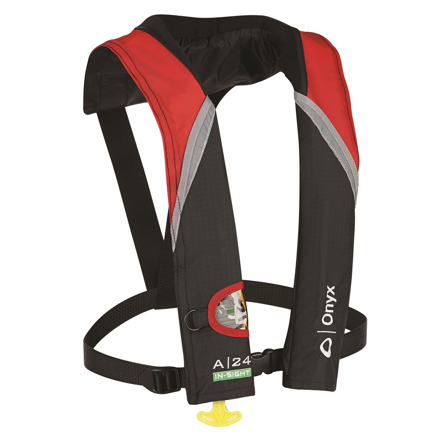 Onyx Outdoor A-24 In-Sight Auto Inflatable Life Jacket Red
