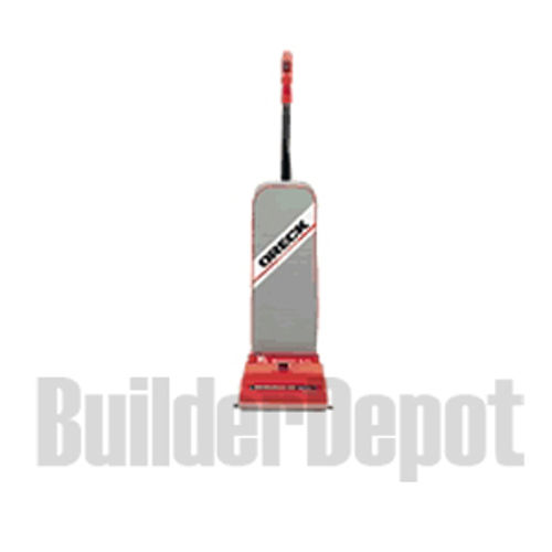Oreck 8lb Commercial Upright Vacuum Cleaner, Red Base