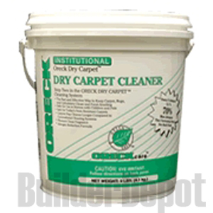 Dry Carpet Cleaner, (Capture) 9 lb. Pail w/Sifter