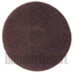 "12"" Scrub Pad, Brown"