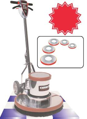 Extended FMC Floor Machine 175 RPM