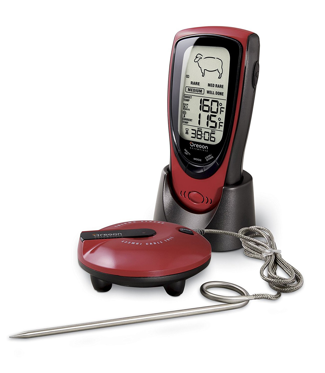 Talking Wireless BBQ/Oven Thermometer