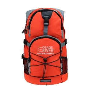 Osage River Drake Hydration Pack Orange Gray