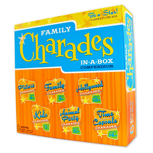Family Charades: In-A-Box Compendium