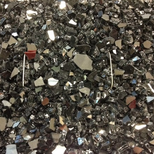 Outdoor Great Room Black Reflective Crushed Glass 5lbs