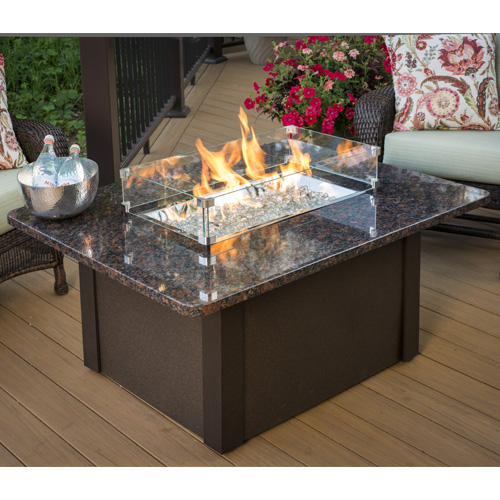 Grandstone Fire Pit Napa Valley Brown