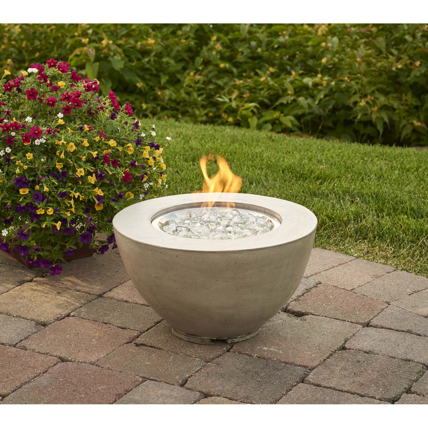 "Cove 12"" Gas Fire Pit Bowl"