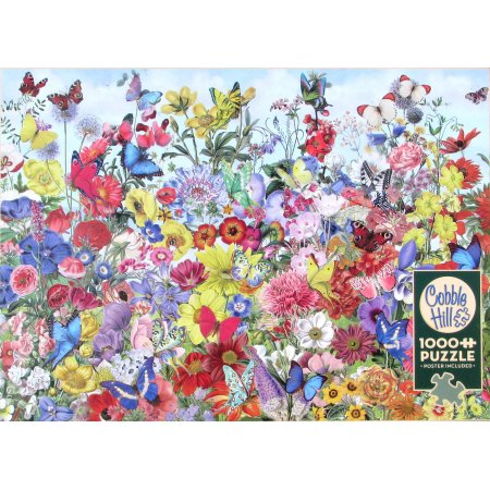 Butterfly Garden 1000 pc Puzzle