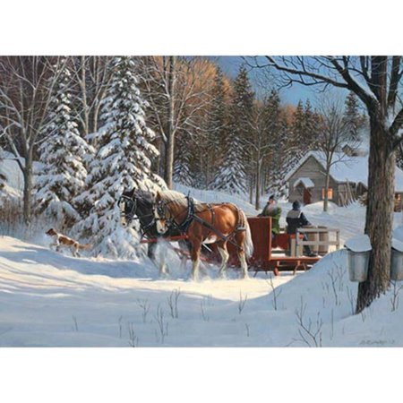 Horse 1,000 Piece Holiday Puzzle