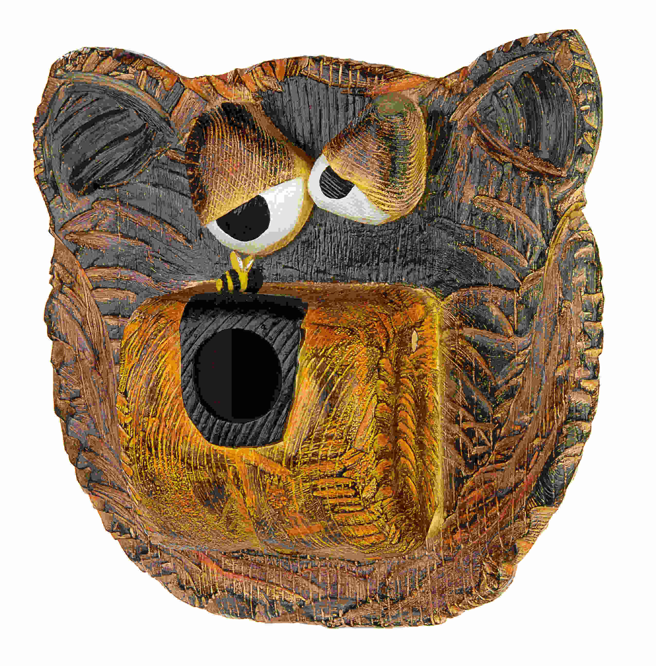 Bee Dazzled Bear Birdhouse