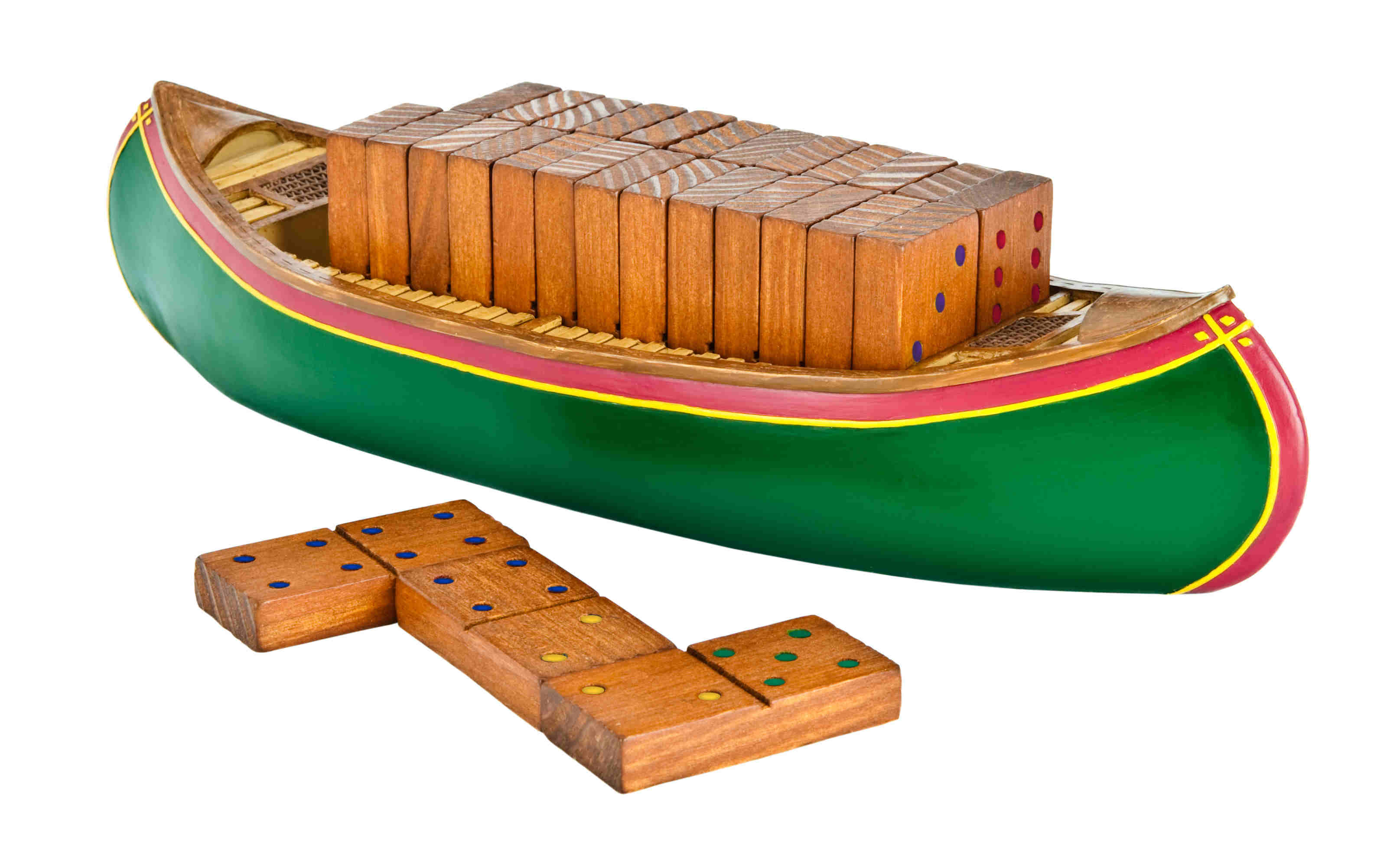Gsi Outdoors Canoe Dominoes