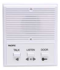PACIFIC ELECTRONICS SINGLE ENTRANCE INTERCOM SYSTEM, 4 WIRE
