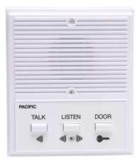 PACIFIC ELECTRONICS SINGLE ENTRANCE INTERCOM SYSTEM, 4 WIRE