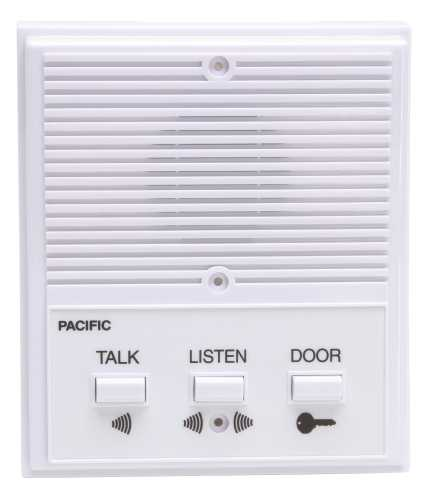 PACIFIC ELECTRONICS SINGLE ENTRANCE INTERCOM SYSTEM, 6 WIRE