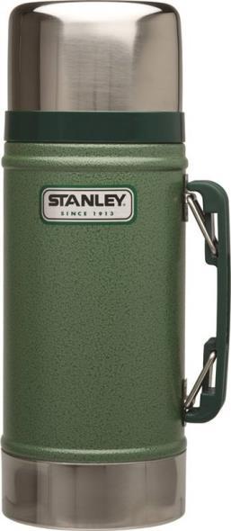 Stanley 10-01229-014 Vacuum Food Jar, 24 oz, 18/8 Stainless Steel, Hammertone Green