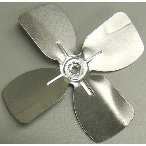 ALUMINUM FAN BLADE 6 IN. DIAMETER 4 BLADES 1/4 IN. SHAFT CW