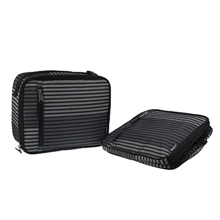 PackIt Classic Lunch Box, Gray Stripe