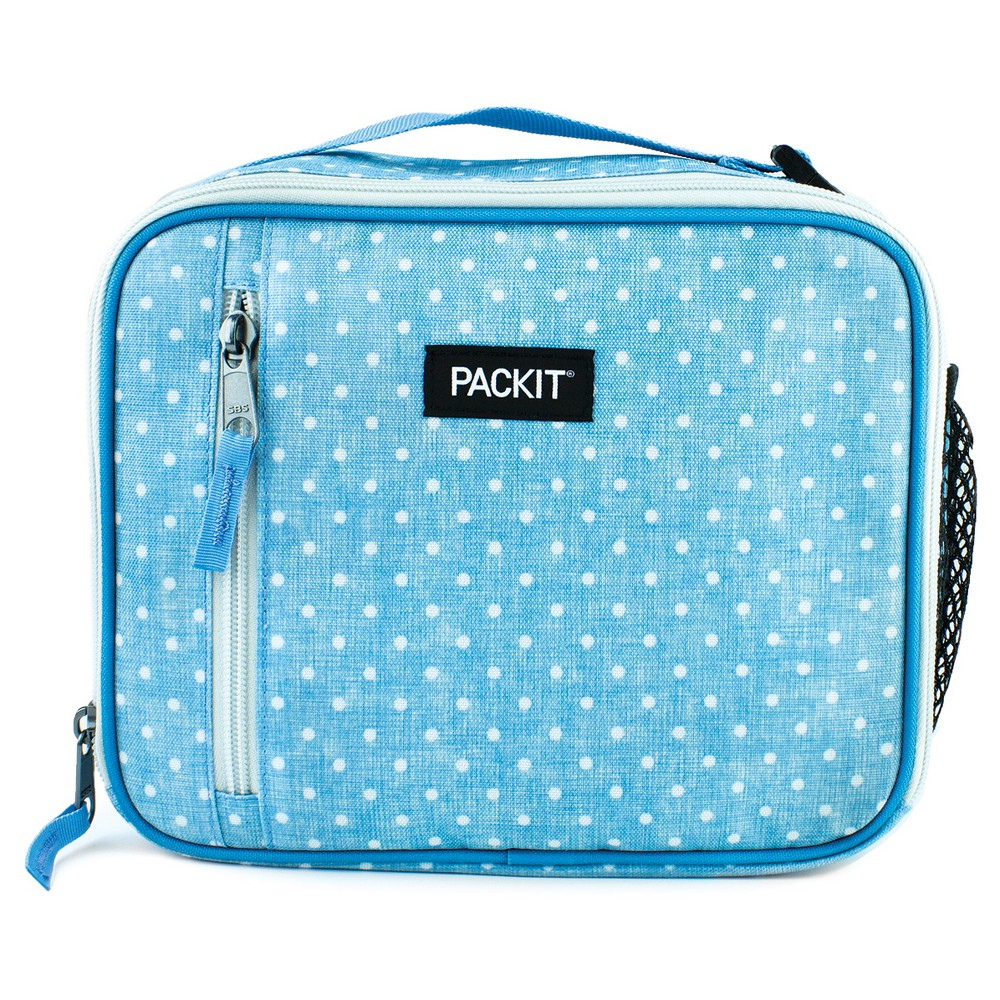 PackIt Classic Lunch Box, Chambray Dot