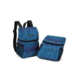 PackIt Lifestyle Lunch Backpack, Dottie Chev