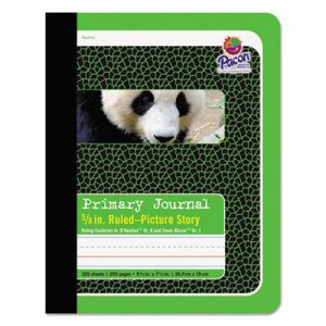 Primary Journal, 5/8 Ruling, 9 3/4 x 7 1/2, 100 Sheets