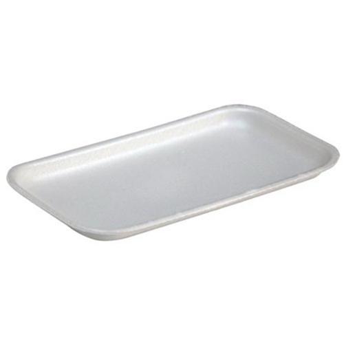 Supermarket Tray, #17, 8.3 x 4.8 x 0.65, White, 1,000/Carton
