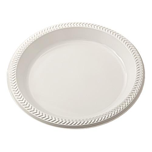 "Meadoware� OPS Dinnerware, Plate, 10.25"" Diameter, Black, 500/Carton"