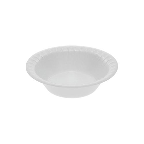 "Laminated Foam Dinnerware, Bowl, 0.8 oz, 4.5"" Diameter, White, 1,250/Carton"