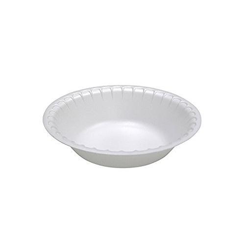 "Laminated Foam Dinnerware, Bowl, 6"" Diameter, 12 oz, White, 1,000/Carton"