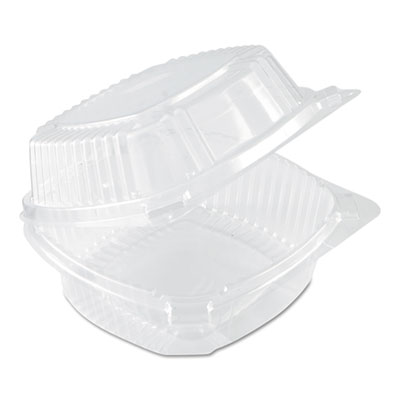 SmartLock Food Containers, Clear, 20oz, 5 3/4w x 6d x 3h, 500/Carton