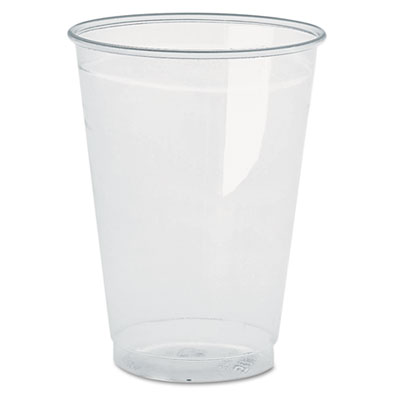 Clear Plastic PETE Cups, 16oz, 70/Bag, 10 Bags/Carton