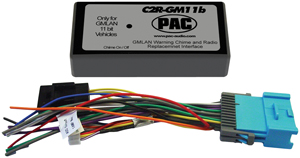 PAC C2R-GM11B Radio Replacement Interface (2005-2006 Cobalt, 2004-2007 Malibu, 2005-2007 G6, No OnStar)