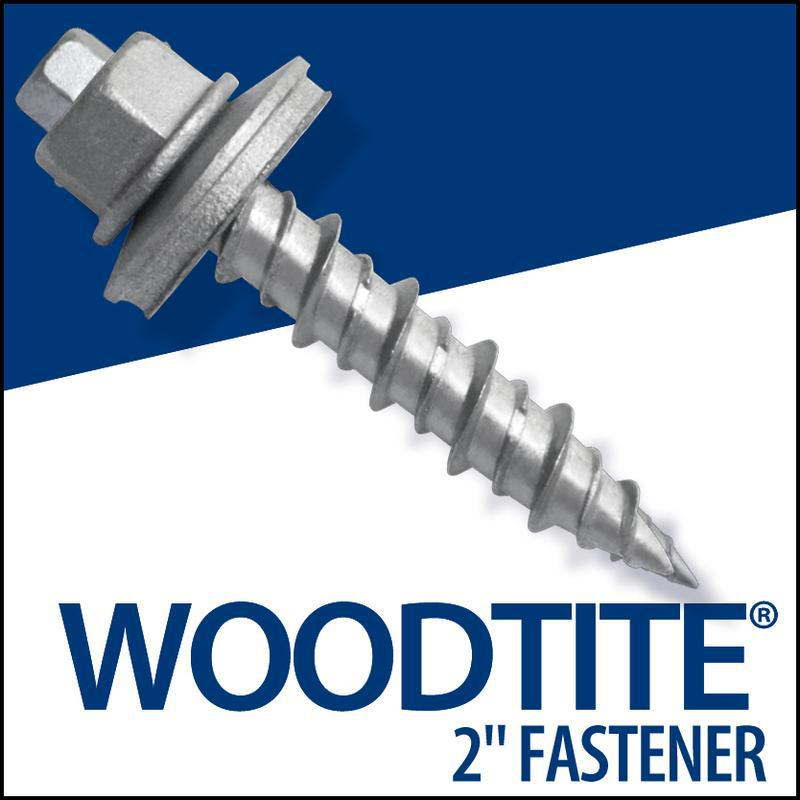92523 2 IN. WOODTITE EPDM FASTENER