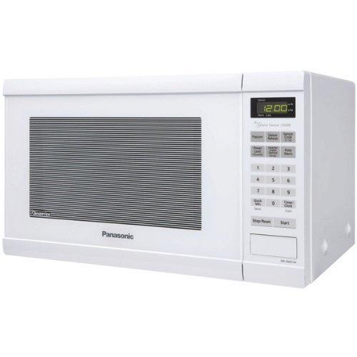 1.2 cu. ft., 1200w Countertop Microwave Oven with Inverter Technology™, White