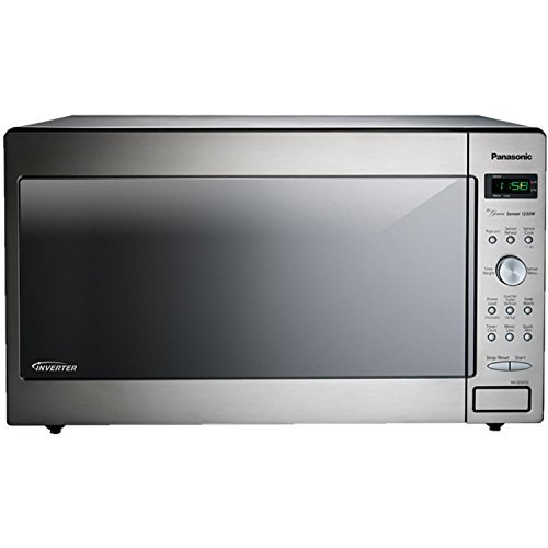1250W, 2.2 Cu Ft. Sensor, Stainless Front & Silver Body, Dial Co