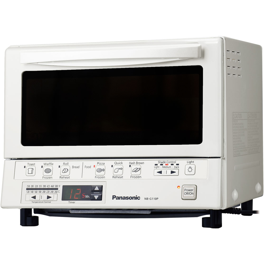 FlashXpress™ Toaster Oven with Double Infrared Heating, White