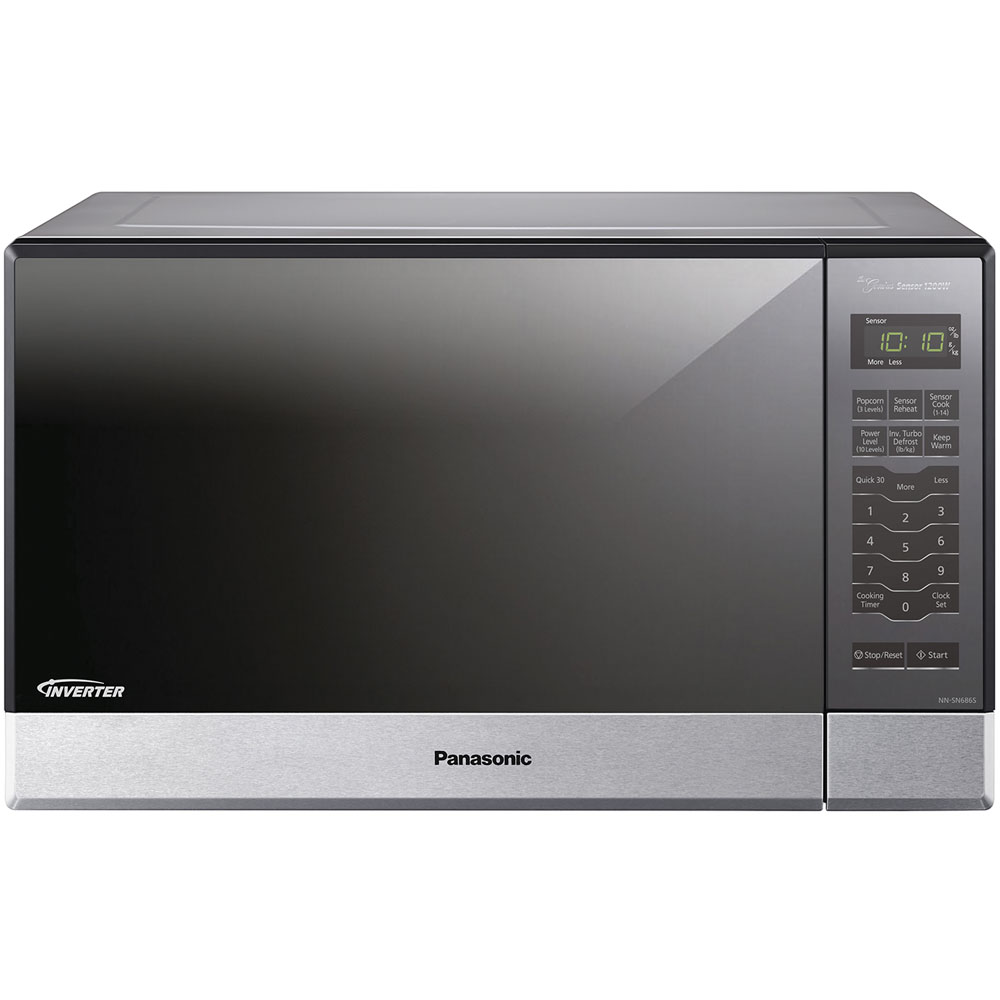 1.2 cu. ft., 1200w Built-In/Countertop Microwave Oven with Inverter Technology™, Stainless Steel