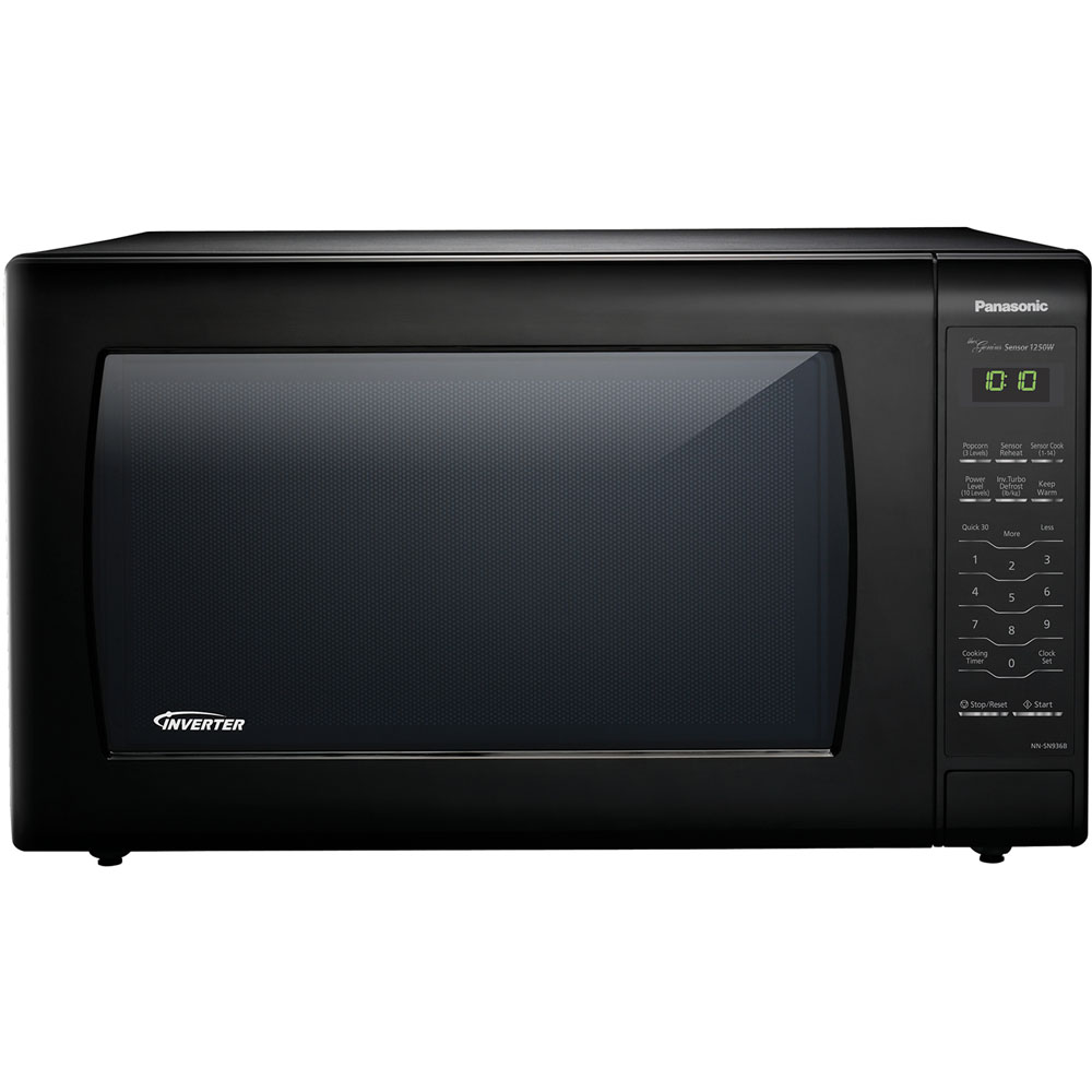 1250W, 2.2 cu ft. Sensor, Black Body and Door, 5 Button Panel, One Touch, Microwave Oven