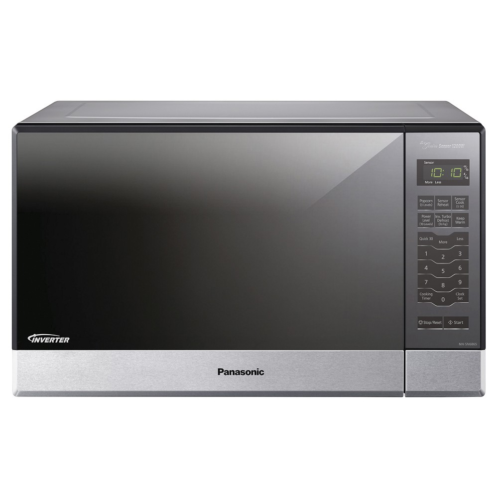 1.2 Cu. Ft. 1200 Watt, Stainless Front & Silver Body, 5 Tactile, Microwave Oven