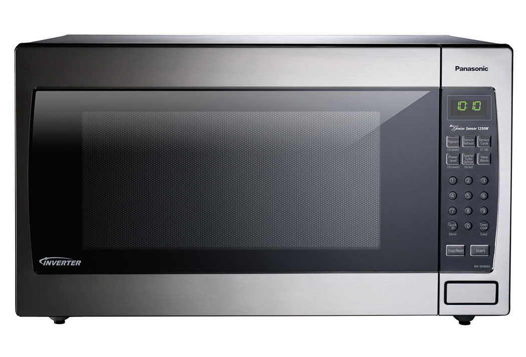 1250W, 2.2 cu ft. Sensor, Stainless Front & Silver Body, Flat Panel, Microwave Oven