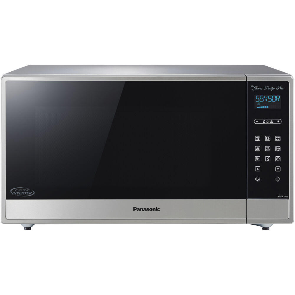 1.6 cu ft 1250W Cyclonic Wave, Stainless front, Dial Control
